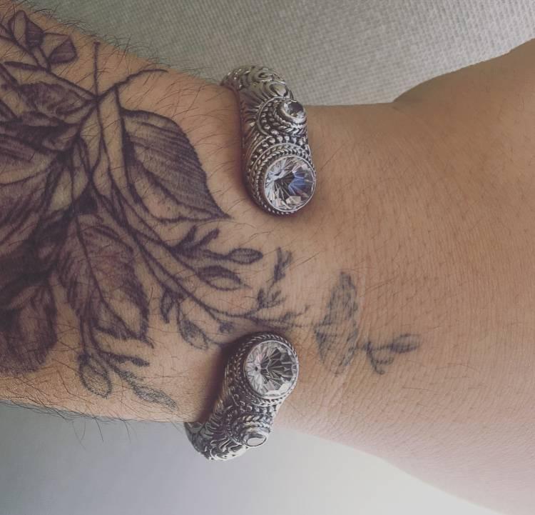 Sarda White Quartz & White Topaz Bracelet