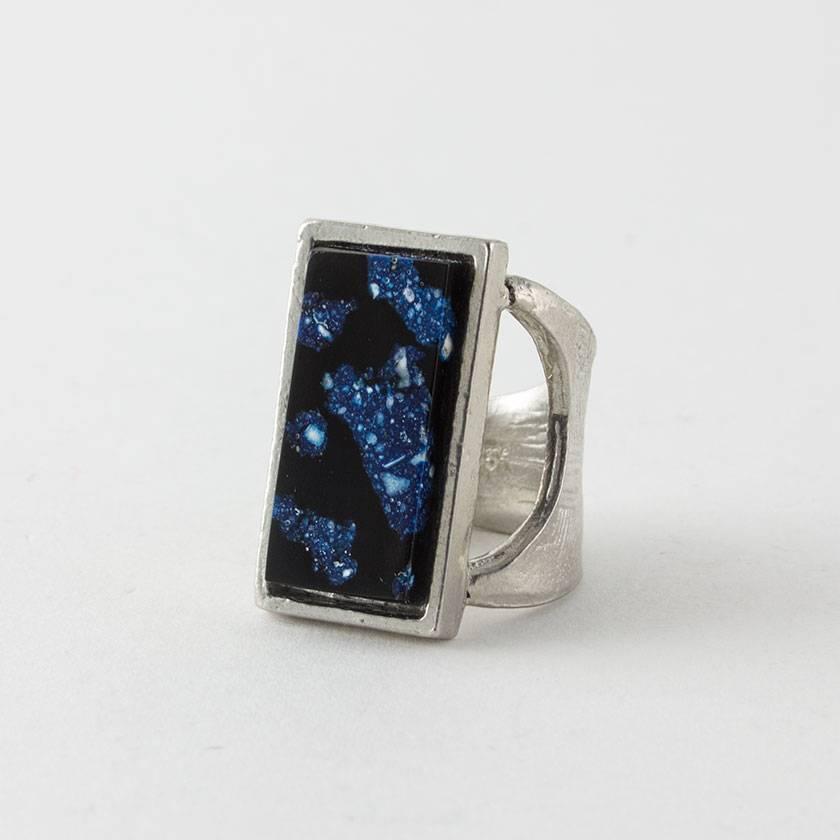Anne Marie Chagnon Peony Ring- Lazuli (Adjustable)