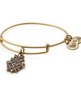 Alex and Ani Armenian Cross IV EWB -Gold