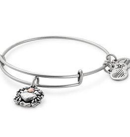 Alex and Ani Crab II EWB -Silver