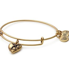 Alex and Ani Cupid's Heart II EWB -Gold