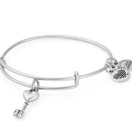Alex and Ani Key To Love EWB -Silver
