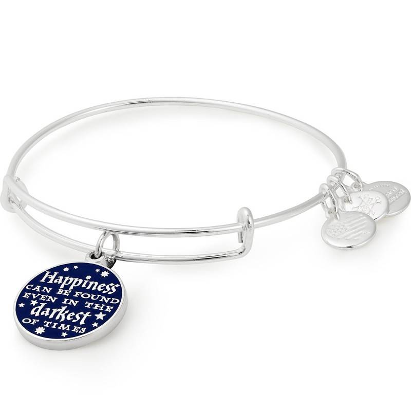 Alex and Ani Harry Potter- Happiness Can Be Found EWB -Silver