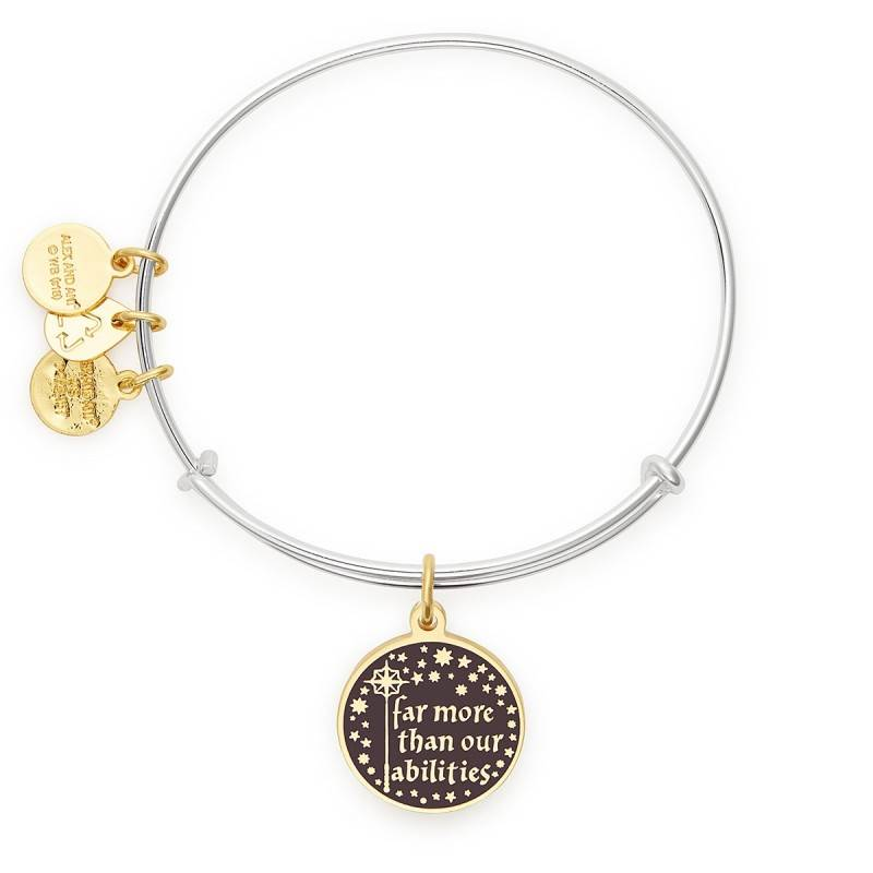 Alex and Ani Harry Potter -Its Our Choices EWB -Two Tone -Silver