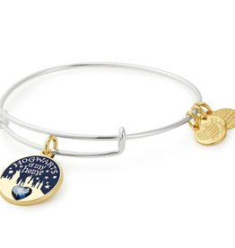 Alex and Ani Harry Potter -Hogwarts is My Home EWB -Two Tone -Silver