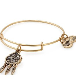 Alex and Ani Dreamcatcher EWB -Gold