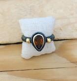 TYKHE Swarovski Crystal Tykhe Ring Size 6.5