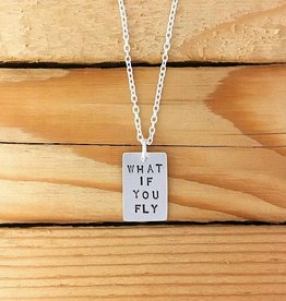 """Valerie Davidson """"What if You Fly"""" Pendant on 18"""" Chain"""