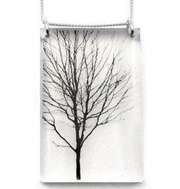 Black Drop Designs Black Drop-Tall Tree Necklace