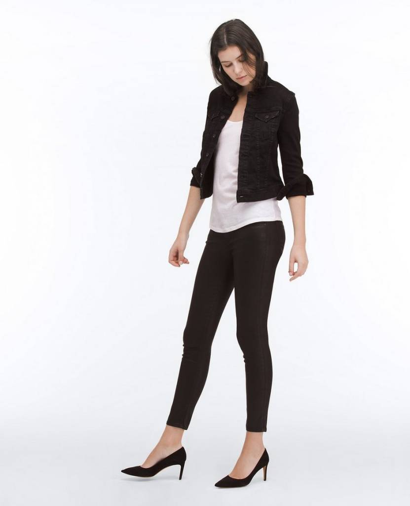 Adriano Goldschmied AG Leatherette Legging Ankle