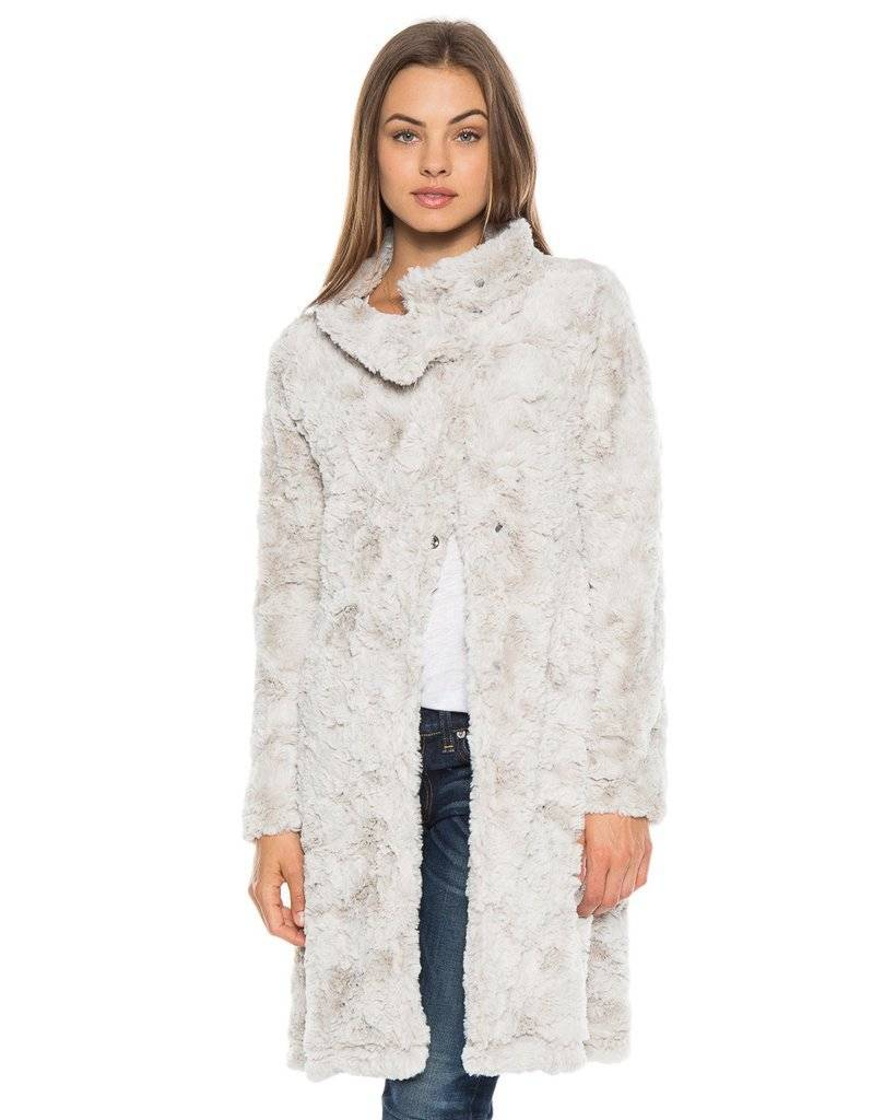 Dylan Dylan Classic Silky Fur Jacket
