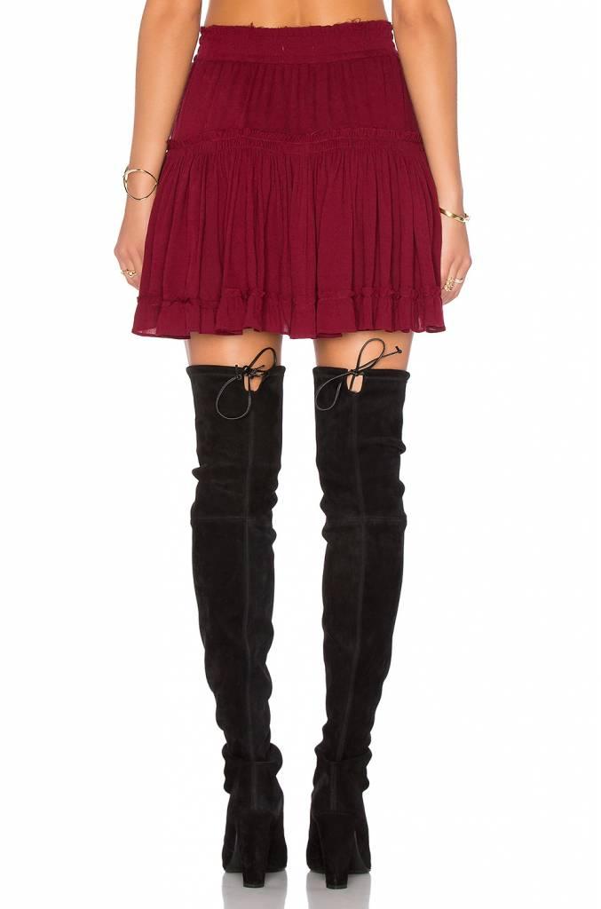 Misa Misa Ruffle Skirt