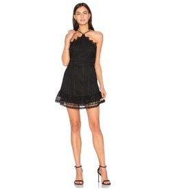 Karina Grimaldi Benjamin Lace Mini Dress