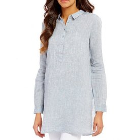 Eileen Fisher Eileen Fisher Classic Collar Henley Tunic