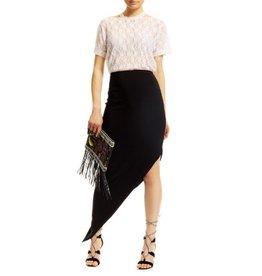 Nicole Miller Nicole Miller Celine Asymmetric Skirt