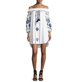 Misa Natalie Embroidered Dress