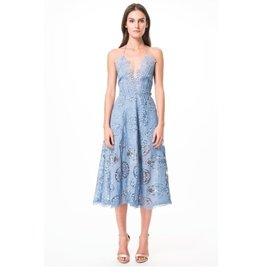 Karina Grimaldi Aubrey Lace Dress