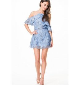 Karina Grimaldi Ellie Lace Mini Dress