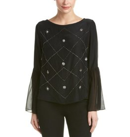Nicole Miller Nicole Miller Beaded Top