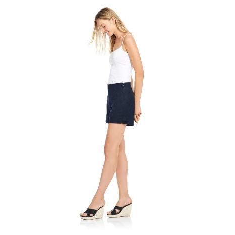 Ecru Swift Side Zip Short