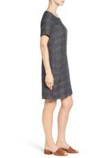 Eileen Fisher Short-Sleeve Shift Dress