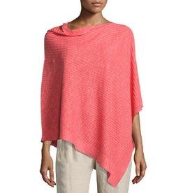 Eileen Fisher Organic Linen Cotton Poncho