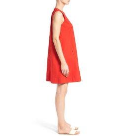 Eileen Fisher Stretch Organic Cotton Shift Dress