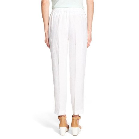 Eileen Fisher Eileen Fisher Organic Linen Ankle-Length Straight Pant