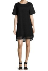 Finley Shawn Mod Mesh Dress