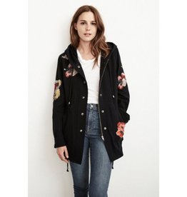Velvet Velvet Honey Embroidered Parka Jacket