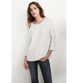 Velvet Velvet Cliona Cozy Rib Lace Up Top
