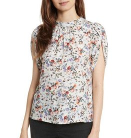 Rebecca Taylor Rebecaa Taylor Ruby Floral Petal Sleeve Top