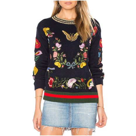 Central Park West Central Park West Butterfly Pullover