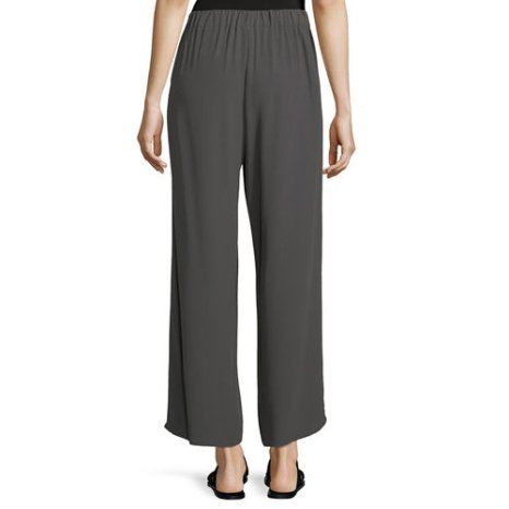 Eileen Fisher Eileen Fisher Crepe Wide Leg Pant