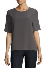 Eileen Fisher Eileen Fisher Viscose Crepe Top