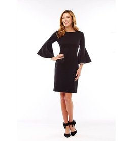 Sara Campbell Sara Campbell Contrast Piping Dress