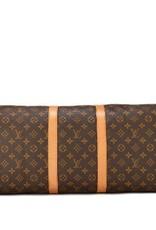 Louis Vuitton Louis Vuitton Monogram AB Keepall Bando55
