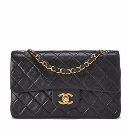 Chanel Lambskin Classic Double Flap Small