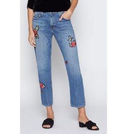Joie Joie Josie Embroidered Jeans