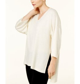 Eileen Fisher Eileen Fisher V-Neck Kimono 3/4 Sleeve Top