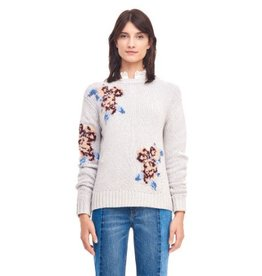 Rebecca Taylor La Vie Rebecca Taylor La Vie Floral Pullover