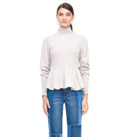 Rebecca Taylor La Vie Rebecca Taylor La Vie Braided Cable Pullover