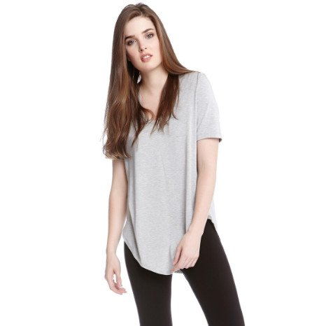 Fifteen Twenty Fifteen Twenty Short Sleeve Shirttail Tee