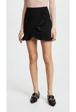 Alice & Olivia Alice & Olivia Lani Ruffle Mini Skirt