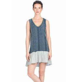 Lilla P Woven Stripe Shift Dress
