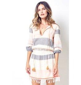 Corey Lynn Calter Avril Scarf Blouson Dress