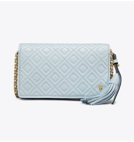 Tory Burch Tory Burch Fleming Flat Wallet Crossbody