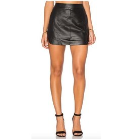 Karina Grimaldi Karina Grimaldi Jacob Leather Skirt