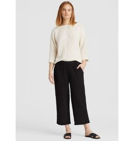 Eileen Fisher Eileen Fisher Gauze Straight Cropped Pant