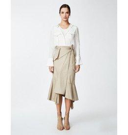 Nicole Miller Nicole Miller Wrap Long Skirt